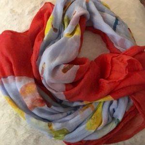 Ann Taylor popsicle scarf
